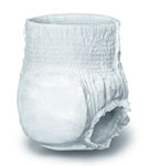 Protection Plus Classic Underwear, 20-28in waist, Small (Bag of 22)