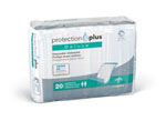 Protection Plus Deluxe Disposable Underpads, 23x36, 20/bg (case of 6 bg)