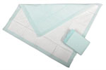 Protection Plus Deluxe Polymer Disposable Underpads, 30x30 (Case of 100)
