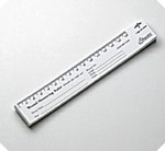 Wound Measuring Paper Rulers (Box of 250)