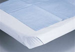 Drape Sheet, Tissue/Poly, 58x96, White  (Case of 25)