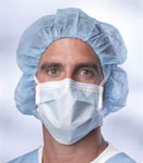 Blue Surgical Face Mask w/ Ties (Box of 50)
