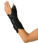 Wrist and Forearm Splint with Abducted Thumb