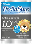 Pediasure Vanilla 8 oz can (case of 24)