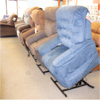Lift Chair Recliners (40 Different Lift Chairs on the Show Room Floor)