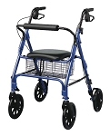 Freedom Rollator, Blue by Medline