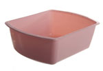 Rectangular Wash Basins / 8qt (CALL BEFORE PLACE ORDER)