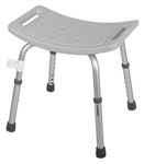 Easy Care Shower Chair w/o Back (Case of 4)