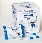 Dentips Untreated Disposable Oral Swabs (Box of 250)