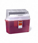 Portable Sharps Container /  5qt (Case 14)