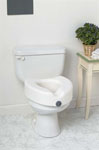 Locking Raised Toilet Seat w/o Arms