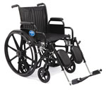 Hybrid Wheelchair (Standard & Transport Combo)