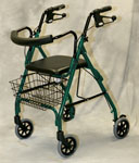 Medline Deluxe Rollator / Green