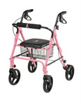 Guardian Breast Cancer Awareness Rollator by Medline