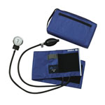 Compli-Mates Aneroid Blood Pressure Monitor, Royal Blue