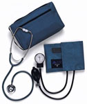Aneroid Blood Pressure Monitor & Stethoscope (Adult)