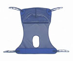 Mesh Sling Commode / 600LB / 2XL
