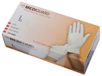 MediGuard Powdered Latex Exam Gloves, Large (Case of 1000)
