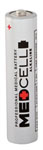 Medcell Alkaline Batteries, AAA (Box of 24)