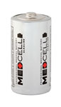 Medcell Alkaline Batteries, D (Box of 12)