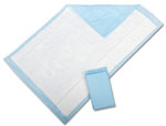 Protection Plus Deluxe Disposable Underpads - 17in x 24in (Case of 300)