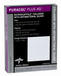 Puracol Plus AG Collagen Dressings - 4.25