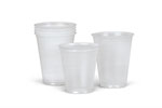 Translucent Plastic Cups (Case of 2500)