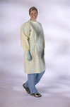 Yellow Isolation Gown w/Elastic Wrist / Level 2 / Regular Size (Case of 50)