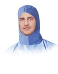 Surgeon Hood (Ties Under Chin) - Blue (Case of 300)