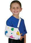 Child's Arm Sling Pedatric Print - Retail Packaging