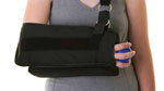 Shoulder Immobilizer w/Abduction Pillow - Large