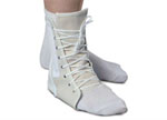 Canvas Lace-Up Ankle Support - Large  (11-13in)