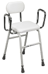 All-Purpose Stool with Adjustable Arms by Drive