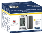 Deluxe Automatic Blood Pressure Monitor, Wrist by Drive Medical