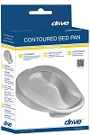 Contoured Bed Pan by Drive Medical