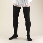 TRUFORM Men's 20-30 mmHg Dress Thigh High Support Socks
