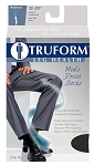 TRUFORM Men's 15-20 mmHg Dress Knee High Socks