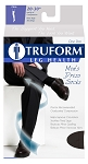 TRUFORM Men's 20-30 mmHg Dress Knee High Socks