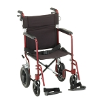 20 inch Transport Chair with 12