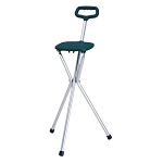 Adjustable Folding Seat Cane by Nova (Model# 3090)