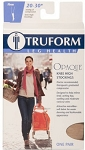 TRUFORM Opaque 15-20 Knee High Closed Toe