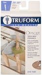 TRUFORM Opaque 15-20 Thigh High Closed Toe