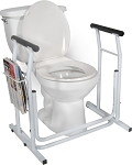 Free-standing Toilet Safety Rail by Drive