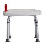Bath Bench with Red Safety Handle by Nova (Model# 9120-R)