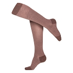 Touch Ladies' Herringbone Pattern 20-30 mmHg Knee Highs
