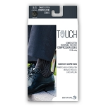 Touch Men's Argyle Pattern 15-20 mmHg Knee Highs