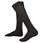 Touch Men's Iintelligent Rib Pattern 15-20 mmHg Knee Highs
