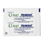 CURAD Mediplast Wart Remover Pads, 2