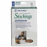 TRUFORM Anti-Embolism Closed Toe 18 mmHg Thigh High Support Stockings
