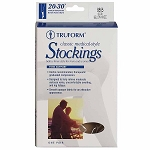TRUFORM Classic Medical Closed Toe 20-30 mmHg Thigh High Stockings